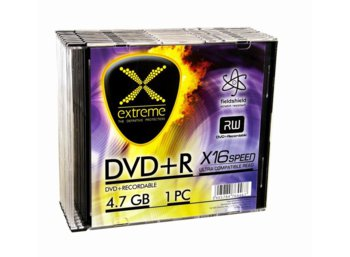 Extreme DVD+R 4,7 GB x16 - Slim 10