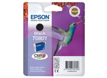 Epson Tusz T080140 Black Blister do Stylus Photo R265/360/RX560