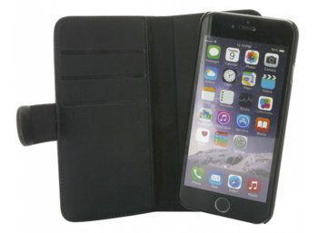 Holdit Etui walletcase magnetic iPhone 6/6S skóra czarne