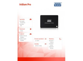 GOODRAM Iridium 120GB SATA3 2,5 560/320MB/s 7mm