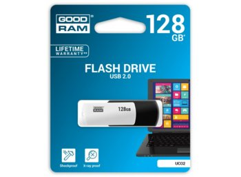 GOODRAM COLOR MIX 128GB USB2.0 BLACK&WHITE