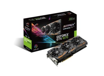 Asus GeForce CUDA GTX 1070 DDR5 256BIT DVI/2HDMI/2DP