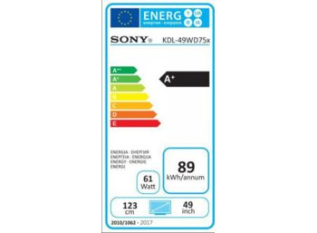 Sony 49'' LED  KDL-49WD755B