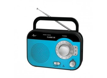 ART Radio AM/FM Classic BT  blue