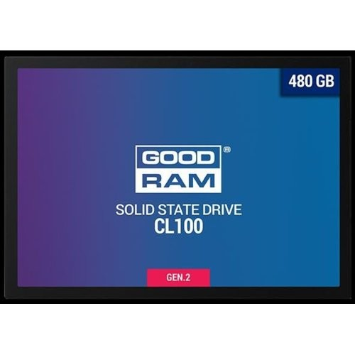 GOODRAM Dysk SSD CL100 G2 480GB  SATA3 2,5