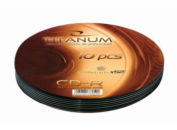 Titanum CD-R 700MB x56 - Soft Pack 10