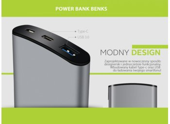 Benks Power-bank Thor Typ C 10000 mAH