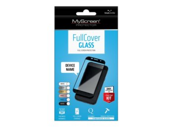 MyScreen Protector  FullCover Szkło do Apple iPhone 7 Czarny