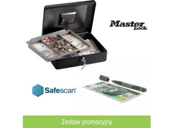 Master Lock Kasetka CB-12ML + Safescan 30 (3 szt.)