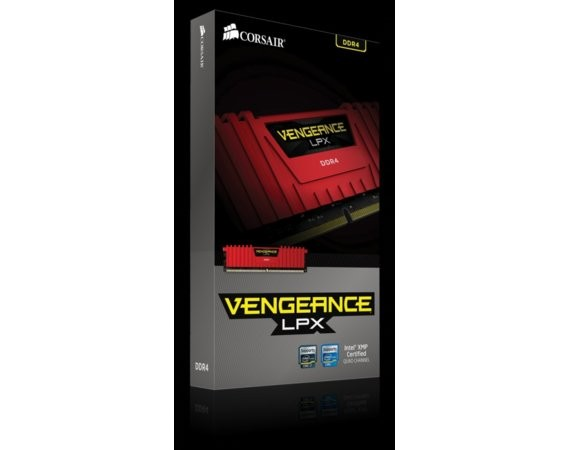 Corsair DDR4 Vengeance LPX 8GB/2666 RED CL16-18-18-35 1.20V XMP2.0