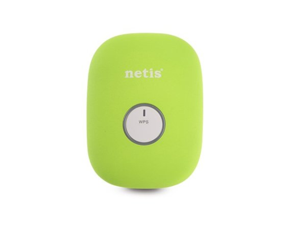 NETIS Repeater WiFi N300+RJ45 zielony