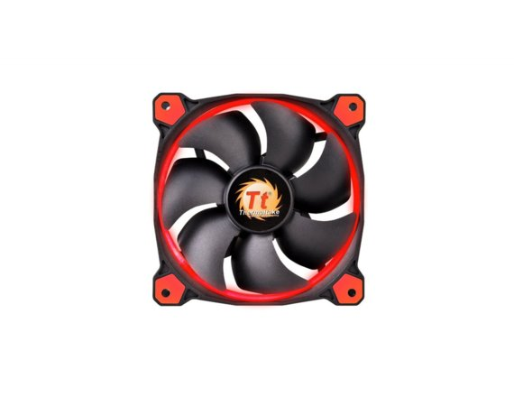 Thermaltake Wentylator - Ring 12 LED Red (120mm, LNC, 1500 RPM) BOX