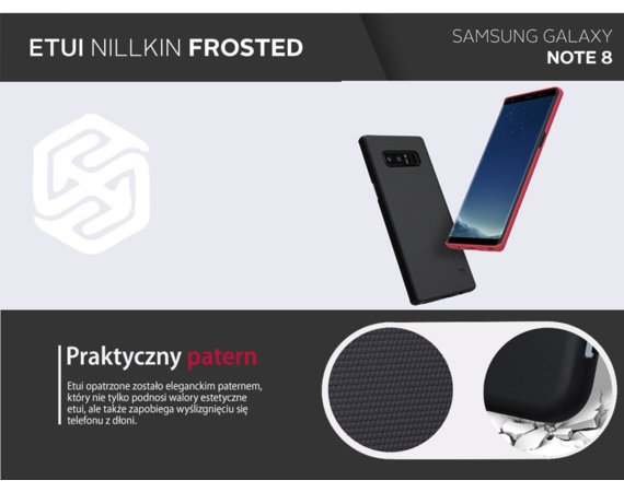 Nillkin Etui Frosted Samsung Galaxy Note 8 White