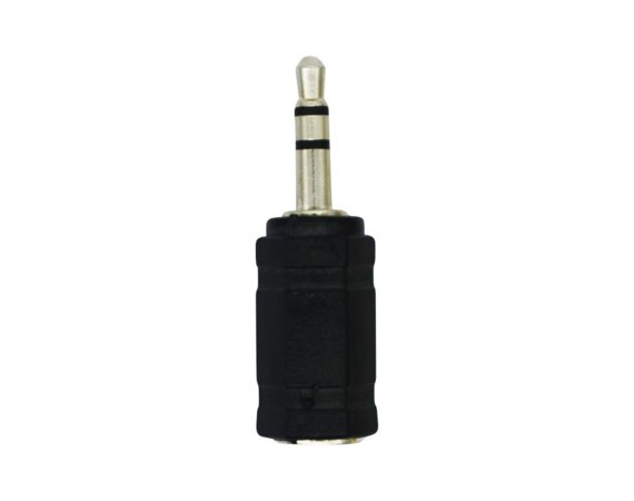 LogiLink Adapter typu Jack 3.5mm do Jack 2.5mm, czarny
