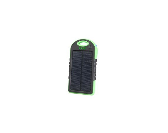 Tracer Solar Mobile Battery 5000 mAh zielony