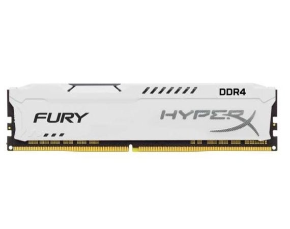 HyperX DDR4 Fury White 8GB/2400  CL15
