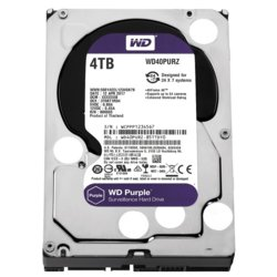 Western Digital HDD Purple 4TB 3,5'' 64MB  SATAIII/5400rpm