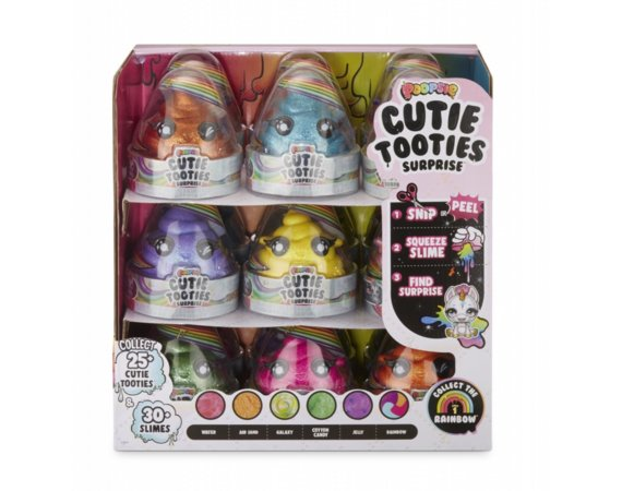 Figurki Poopsie Cutie Tooties Surprise 2-1 display 18 sztuk