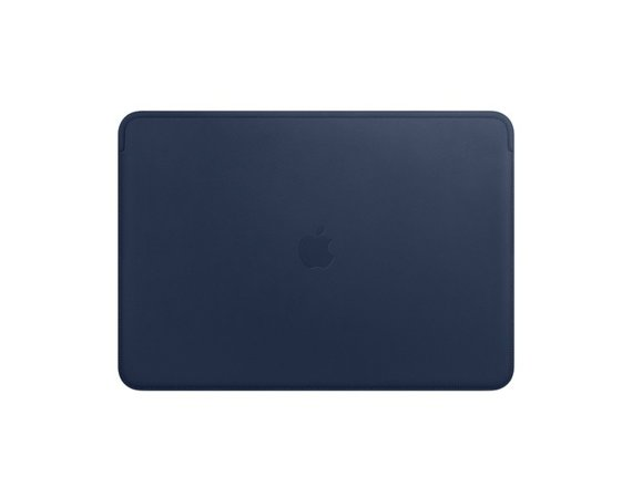 Apple Futerał Leather Sleeve for 15-inch MacBook Pro - Midnight Blue