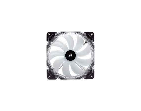 Corsair Fan HD140 RGB LED High Static Pressure                  4 pin / 2-Pack / 140 mm