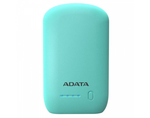 Adata Power Bank P10050 10500mAh Błękitny 2.4A
