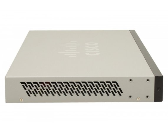 Cisco SF200-24 SMART switch L2 24x10/100 2xCOMBO NO FAN Rack 19''