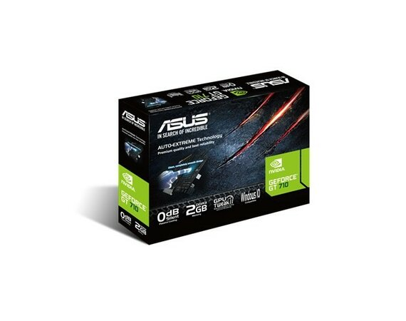Asus GeForce GT 710 2GB DDR3 64B IT DVI/HDMI/D-Sub BOX