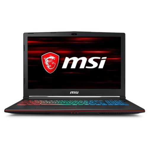 MSI Laptop GP63 Leopard 8RE-403XPL DOS/i7-8750H/8GB/1T/GTX1060/15.6 FHD