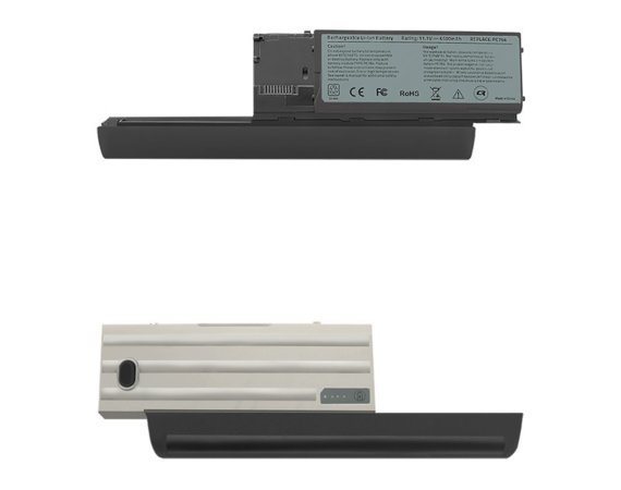 Qoltec Bateria do Dell Latitude D620 D630 PC764, 6600mAh, 10.8-11.1V
