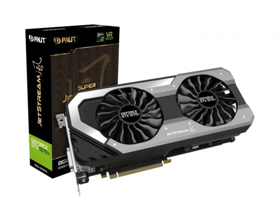 Palit GeForce GTX 1070 Ti Super JetStream 8GB GDDR5 256BIT DVI-D/3DP/HDMI