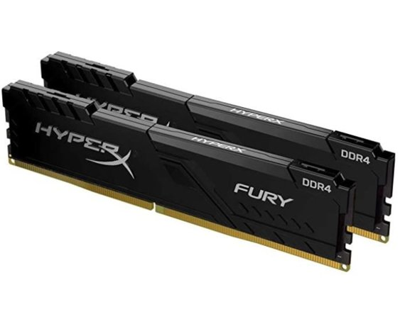 HyperX Pamięć DDR4 HyperX Fury Black 32GB/3200 (2*16GB) CL16