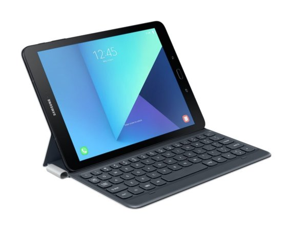 Samsung Keyboard Book Cover Tab S3 Dark Grey