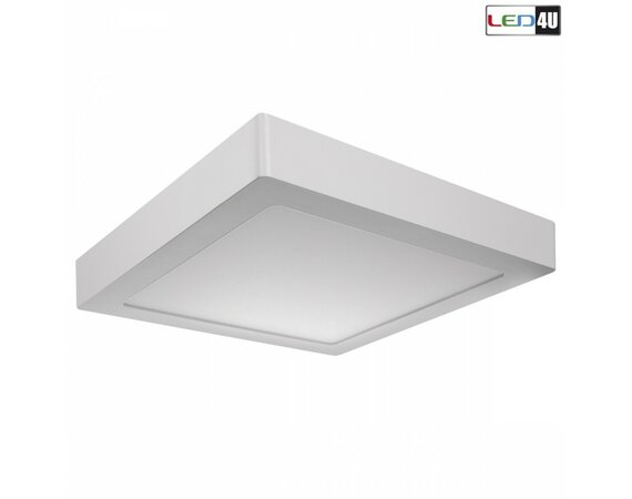 Maclean Panel LED natynkowy slim 18W Cold white 5500-6500K Led4U LD156C 225*225*H40mm