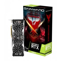 Gainward Karta graficzna GeForce RTX 2080 Ti Pheonix 11GB GDDR6 352bit 3DP/HDMI/USB-c