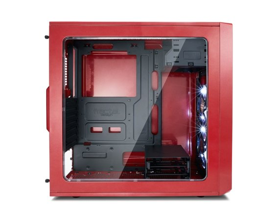 Fractal Design Focus G Red Window 2.5'SDD uATX/ATX/ITX