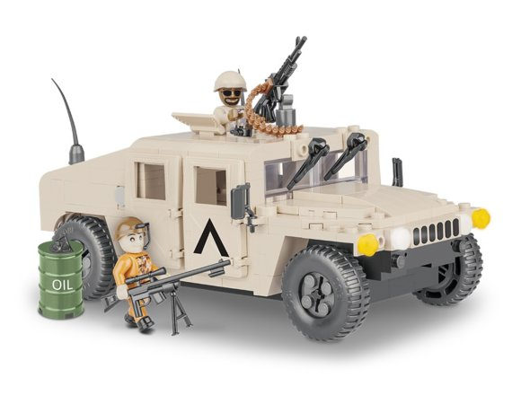 Small Army NATO Armored ALL-Terrain Vehicle Desert Sand