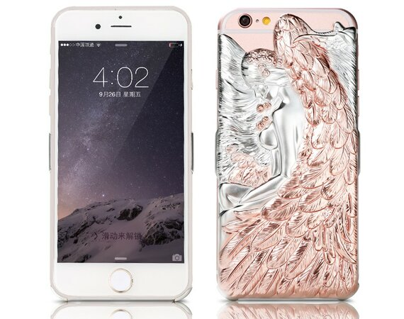 Remax Etui CAMAEL ANGEL iPhone 6/6s miedziane, na tył