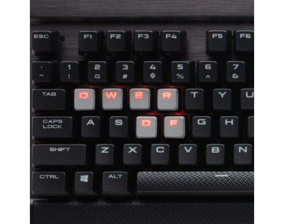 Corsair Gaming K70 LUX Cherry MX Brown  Keyboard Backlighting: RED LED