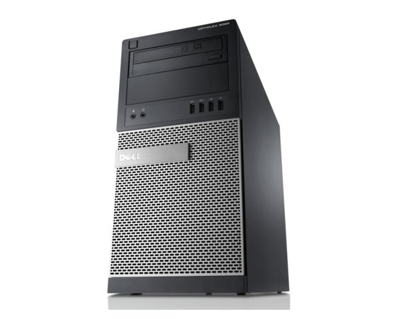 Dell Komputer poleasingowy Optiplex 9020 Tower Core i5 4570 3,2 GHz / 8 GB / 500 GB / DVD / Win 8Pro COA