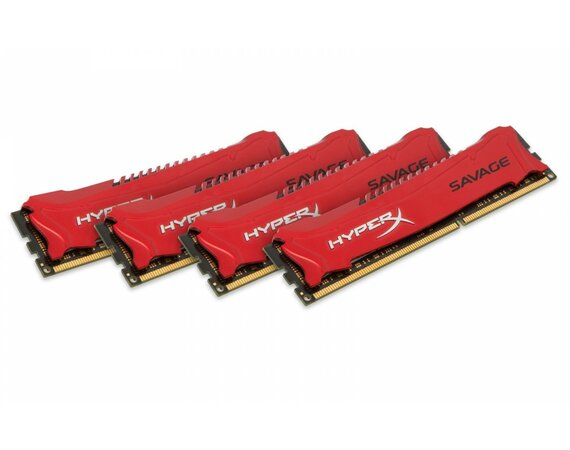 HyperX DDR3  Savage 32GB/1600 (4*8GB) CL9 XMP