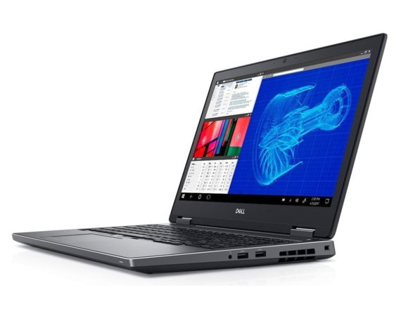 Dell Notebook Precision M7530 Win10Pro  i7-8850H/512GB SSD/32GB/P2000/15,6cala FHD/FPR/SCR