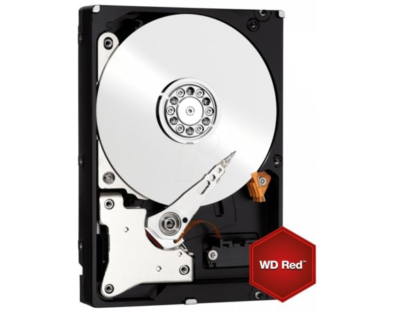 Western Digital Red WD60EFRX 6TB 64MB SATAIII 5400RPM