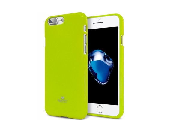 Mercury Etui JELLY Case iPhone 8 limonkowy