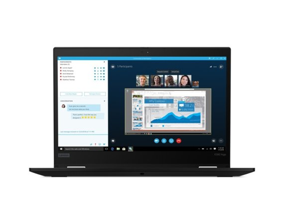 Lenovo Ultrabook ThinkPad X390 Yoga 20NN00FDPB W10Pro i5-8265U/8GB/256GB/INT/13.3 FHD/Touch/Black/3YRS OS