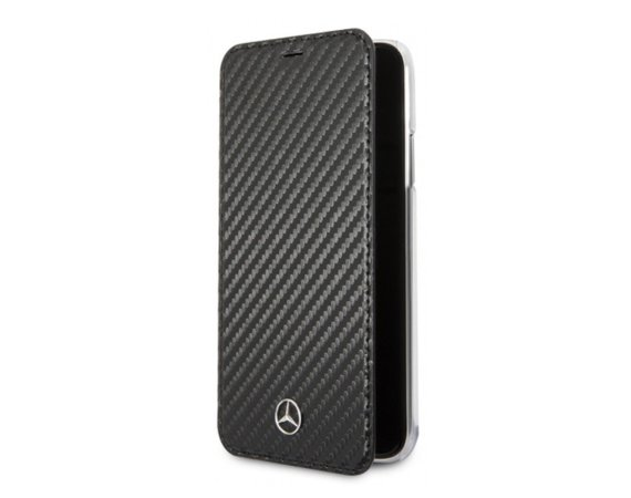 Mercedes Etui book MEFLBKI65CFBK iPhone Xs Max czarny Dynamic