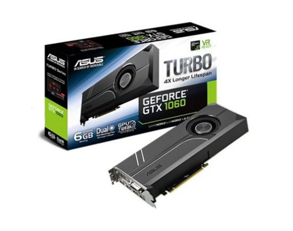 Asus GeForce GTX 1060 TURBO 6GB DDR5 192BIT DV/2HDMI/2DP