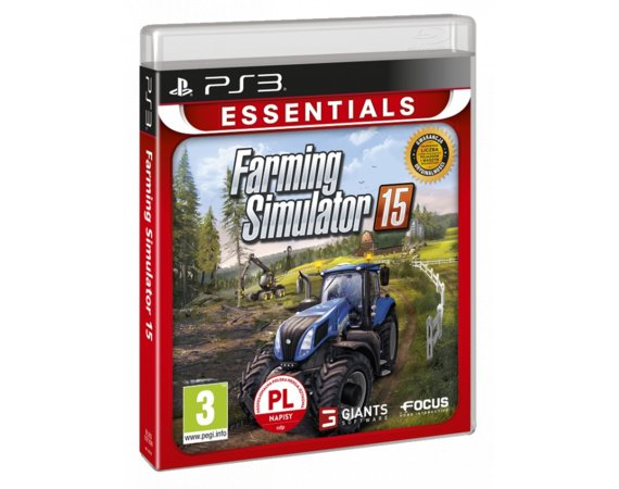CD Projekt Farming Simulator 2015 PS3 ESSENTIALS