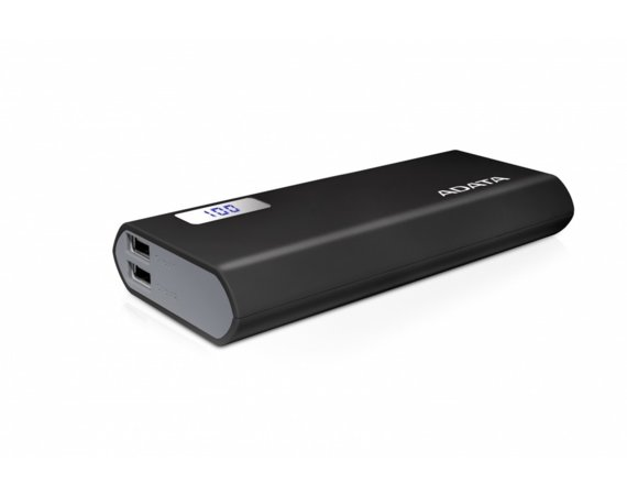 Adata Power Bank P12500D 12500mAh Czarny 2.1A