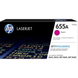 HP Inc. 655A Magenta Toner Cartridge CF453A