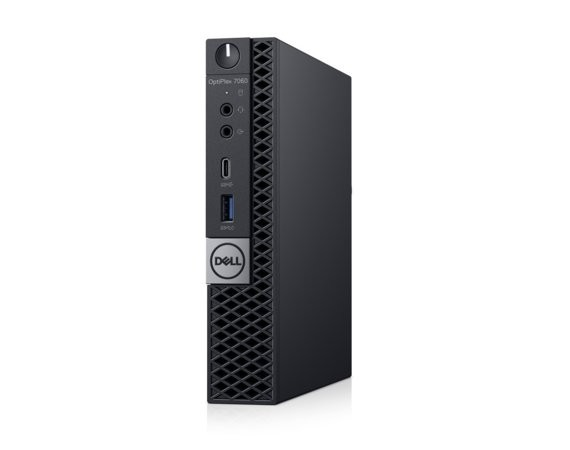 Dell Komputer Optiplex 7060MFF W10Pro i5-8500T/8GB/256GB/Intel UHD 630/WLAN + BT/KB216/MS116/vPro/3Y NBD